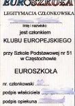 Legitymacja Euro-Szkoła