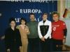 Walentyna Jałocha z opiekunami Klubu Europejskiego